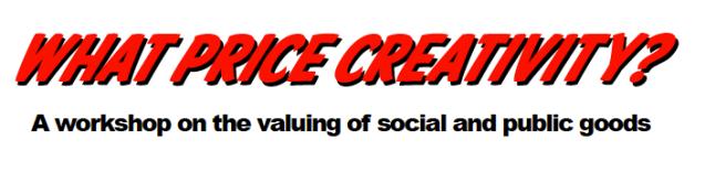 What Price Creativity logo